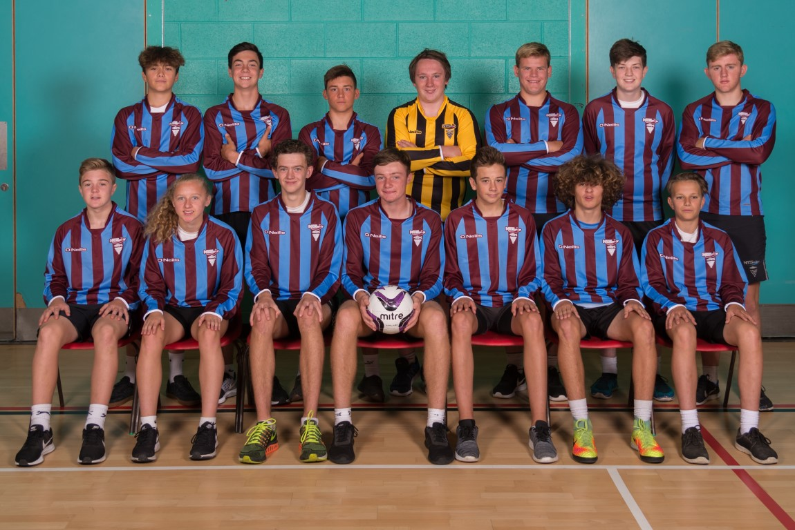 Under 15 Football boys