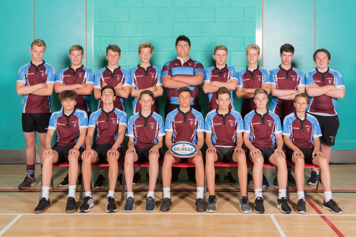 Under 15 Rugby boys