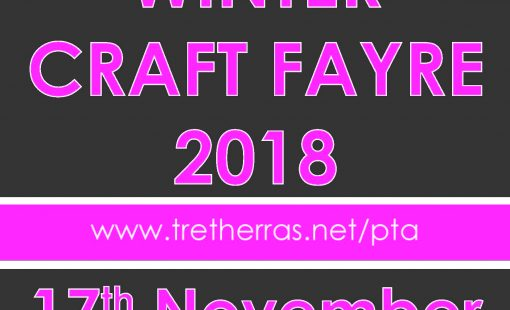 A5 PTA Craft Fayre Poster 2018