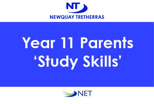 Year 11 Parents Study Skills