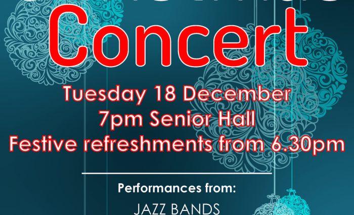 Christmas Concert Poster 2018