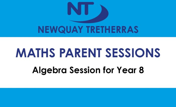 Algebra session for Year8