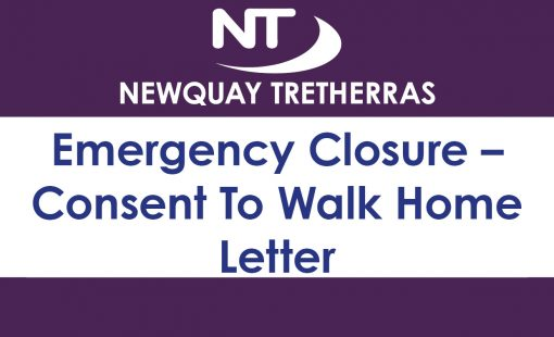 Emergency Closure – Consent To Walk Home Letter 2019