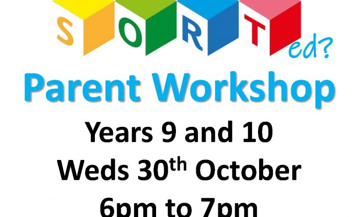 SORT Flyer Parent Workshop