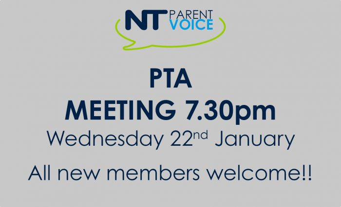 PTA Meeting Date