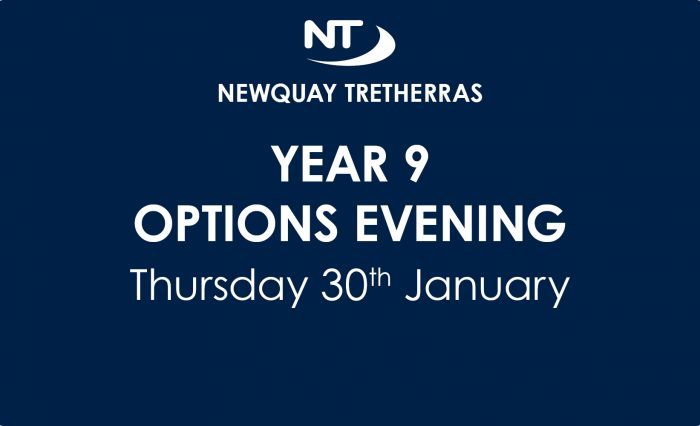 Year 9 Options Evening Date