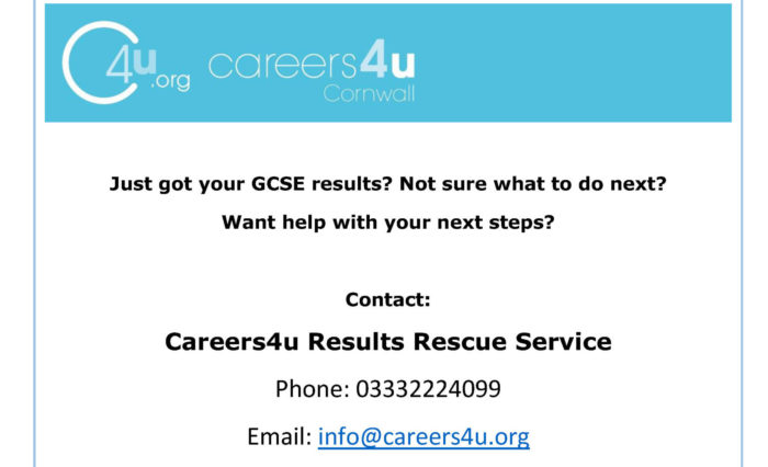 GCSE results rescure service flyer - 1 per page (1)